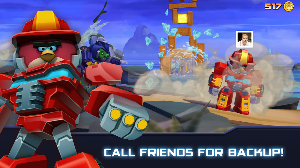Angry Birds Transformers (MOD, Unlimited Money)