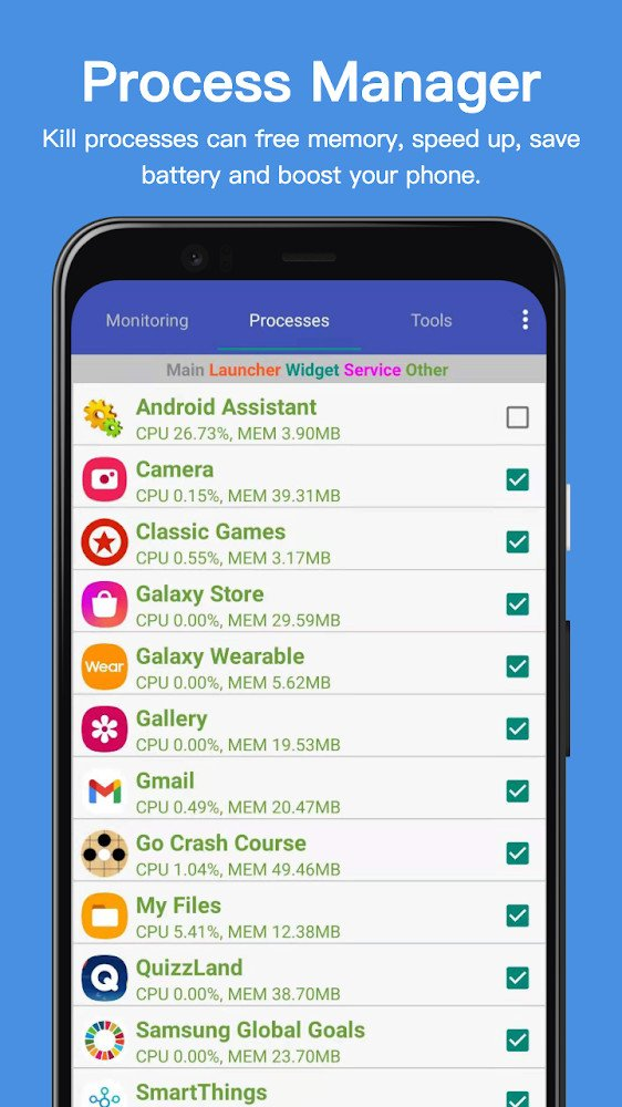 Assistant Pro for Android – Cleaner & Booster