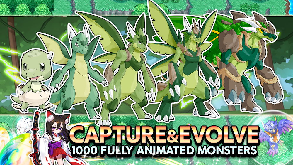 Neo Monsters (MOD, Gems/Capture & More)
