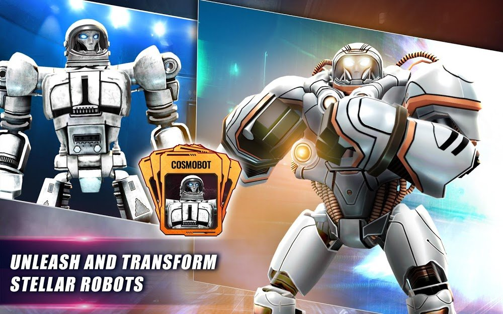 Real Steel World Robot Boxing (MOD, Currency/VIP10)